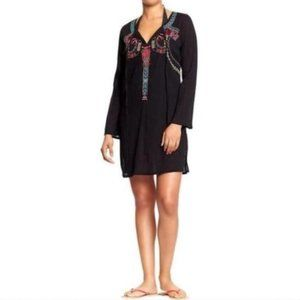 Old Navy Womens Swim Cover-Up Black XS